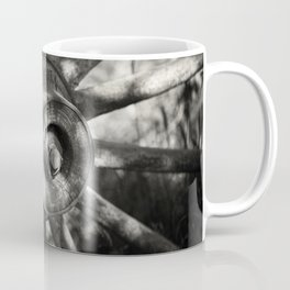 Wagon Wheel Hub Coffee Mug