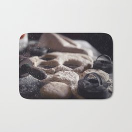 Baking Biscuits art for your kitchen Bath Mat