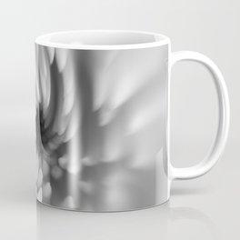 Monochrome Mum Crystal Ball | Abstract Macro Photography Coffee Mug