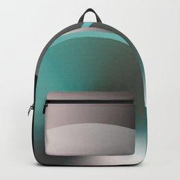 Serene Simple Hub Cap in Aqua Backpack