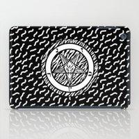 baphomet iPad Cases featuring BAPHOMET by DIVIDUS