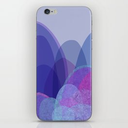 It's not the mountain we conquer but ourselves  iPhone Skin