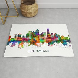 Louisville Kentucky Skyline Rug