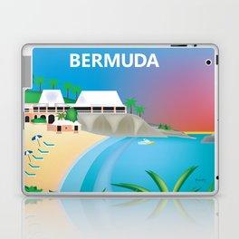 Bermuda - Skyline Illustration by Loose Petals Laptop & iPad Skin