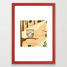 Oscar Owl  Framed Art Print