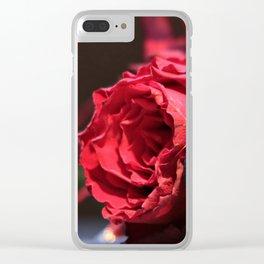 Heart roses   Coeur avec des roses Clear iPhone Case