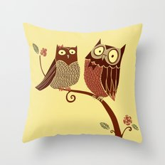 Nice Hooters Throw Pillow