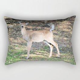 Fall Fawn Rectangular Pillow
