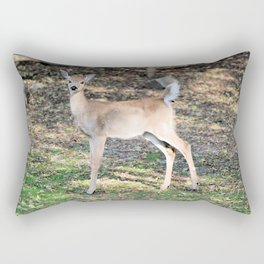 Fall Fawn Rectangular Pillow