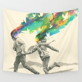 Emanate Wall Tapestry
