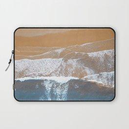 Ocean Waves | Aerial Beach Photography  Laptop Sleeve