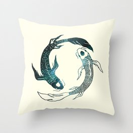 Balance in the Universe Throw Pillow