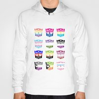 transformers Hoodies featuring Transformers Pride by squ1dp0ny