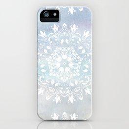 pastel lace design iPhone Case
