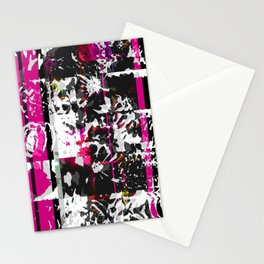 pink line Stationery Cards