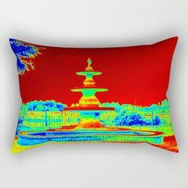 Colorful Fountain Rectangular Pillow
