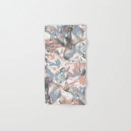 Marble Mist Terra Cotta Blue Hand & Bath Towel
