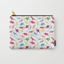 Watercolour Dinosaurs Carry-All Pouch