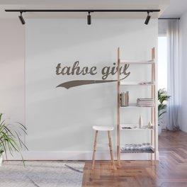 Tahoe Girl Co-ed Chocolate Wall Mural