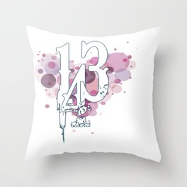 143 Throw Pillow