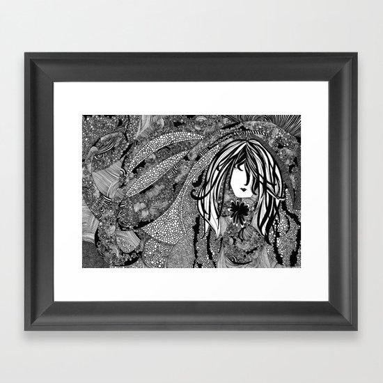 Falling Into You Framed Art Print