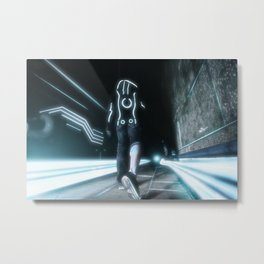 Tales of the Grid Metal Print