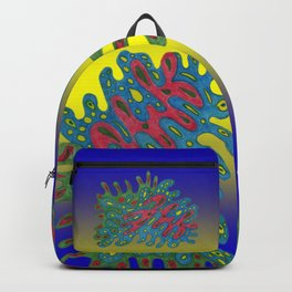 Cellular Creation. Meditative iFi Art. Stress and Pain Free with MYT3H. Beginning. Love. Backpack