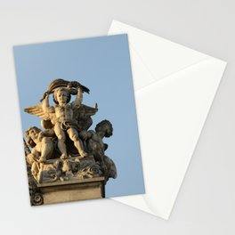 Angels of the Louvre Stationery Cards