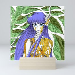 athena the mayan goddess ecopop Mini Art Print