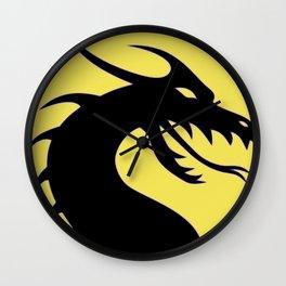 Dark Dragon Wall Clock