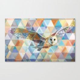 Owl Spirit Guide Canvas Print