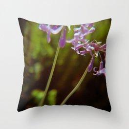Sea Ranch bloom Throw Pillow