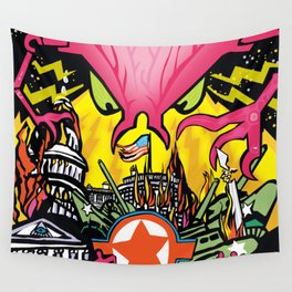 INVASION Wall Tapestry