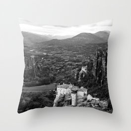 Meteora Throw Pillow