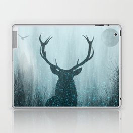 Snow Stag Silhouette Laptop & iPad Skin