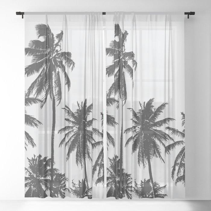Palm 05 Sheer Curtain