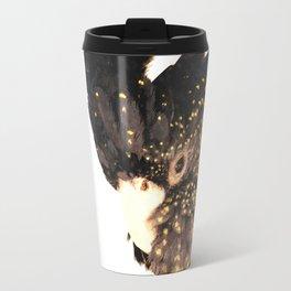 Black cockatoo illustration Travel Mug