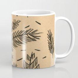 Kraft Paper Pine Coffee Mug