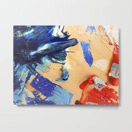Pallet #2 Metal Print