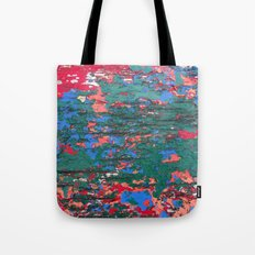 Chipping Paint Tote Bag
