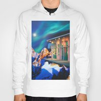 new orleans Hoodies featuring Planet of New Orleans by John Turck