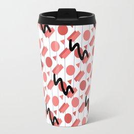 Pink Confetti Travel Mug