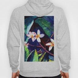 Blooming Plumeria Hoody