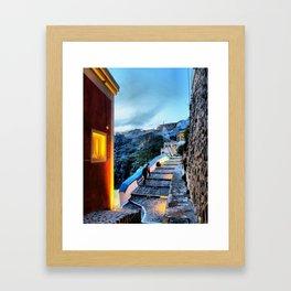 Santorini 29 Framed Art Print