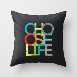 Choose Life Throw Pillow