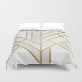 Art Deco Geometry 2 Duvet Cover