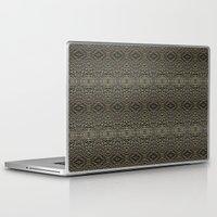 metallic Laptop & iPad Skins featuring Metallic by Sarah McMahon