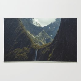 Milford Sound Waterfall Rug