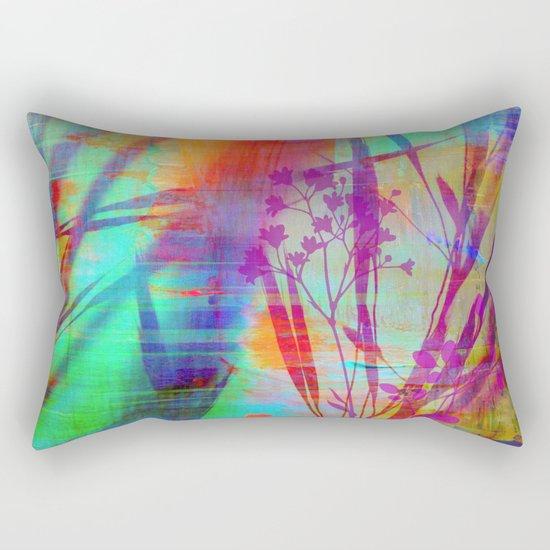 in the jungle  Rectangular Pillow