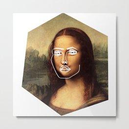Mona Disclosure Metal Print